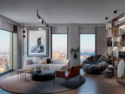 Апартаменты премиум-класса «Поклонная 9» 3 варианта дизайнерской отделки